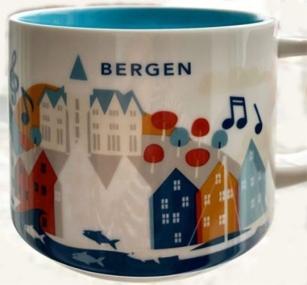 Starbucks Bergen mug