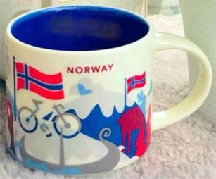 Starbucks Norway mug